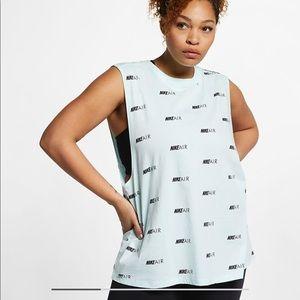 Nike Air printed tank top